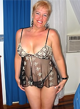 Beautiful chubby mature ladies with huge knockers and hard nipples